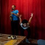 WEEK-END IMPROVISATIONatelier musique et danseJEAN-LUC GUIONNET & LOTUS EDDÉ KHOURI