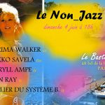 ATELIER DU SYSTÈME B.au Non_Jazz avec Karima Walker, Mikko Savela, Méryll Ampe, Jean Ray