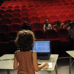 LA MÉTAMORPHOSECréation chorégraphique et sonoreRésidence territoriale d'artistes à l'école VoltaireAude RABILLON & Pauline TREMBLAY
