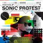 # SONIC PROTEST #GRAHAM LAMBKIN & MARK HARWOODASPEC(T)SCENES FROM SALADMERRY CRISISPIERRE BERTHET & RIE NAKAJIMA+ LICO + DJ SPIC +«The Rise of the NSB» De Zev AsherÀ partir de 15h30Halle Bouchoule & Instants Chavirés